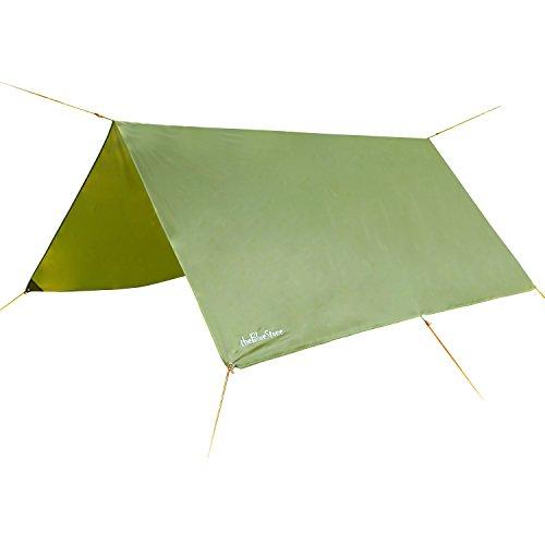 3m x 3m - wasserdicht , leicht, kompakt und stark grün Hammock Plane für Camping