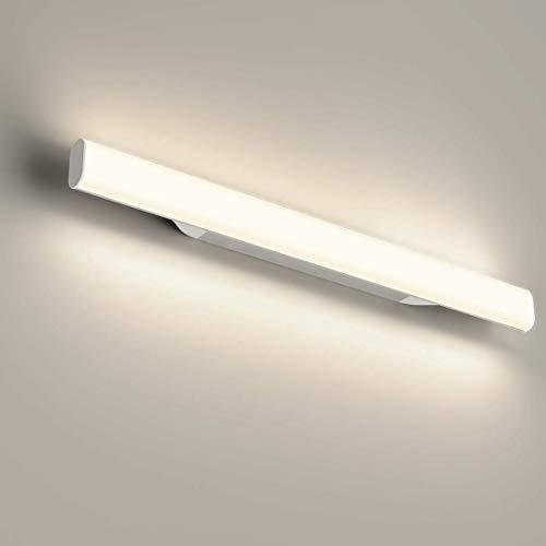 LED Spiegelleuchte, 4000K Badleuchte, Schminklicht, Badezimmer, Schrankleuchte, Schminktisch mit Beleuchtung, Schminklampe, Aufbauleuchte, Schrankbeleuchtung, neutral weiß, 85~260 V, 440mm 12W 1200LM