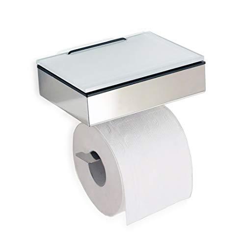 Feuchttücherbox mit WC Rollenhalter - Feuchttuchbox mit Toilettenpapierhalter - Made in Germany