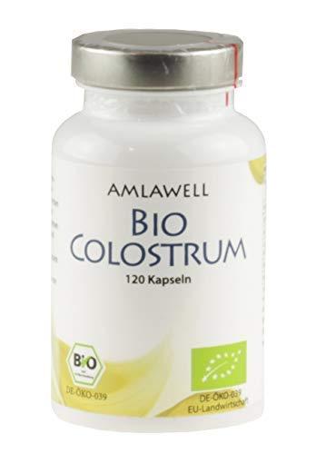 Amlawell Bio Colostrum / 120 Kapseln / 500mg Colostrum Pulver