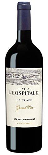 6x 0,75l - 2016er - Gérard Bertrand - Château L'Hospitalet - Grand Vin Rouge - La Clape A.P. - Frankreich - Rotwein trocken