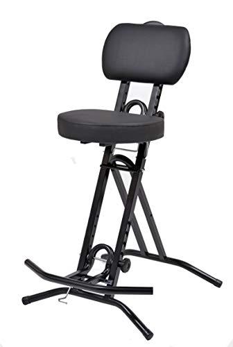 LIBEDOR Stehhilfe Stehhocker Stehsitz Sitz Sitzhilfe Stehstütze mit 6 cm ergonomischer Polster bis 130 kg belastbar