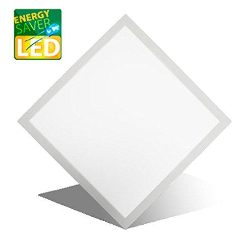 LED Panel Einbau, MARIE classic, 620x620mm, 42W LED Bürolampe für Odenwalddecke, Rasterleuchten, Einlegeleuchte, Büroleuchten, Deckenleuchte.