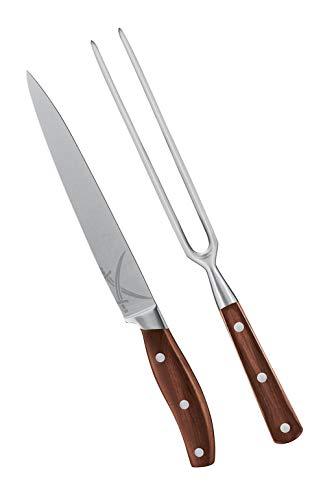 Rösle BBQ-Tranchierbesteck Sansibar, 2-teilig