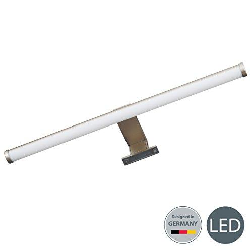LED Spiegelleuchte I Schminklicht I inklusive LED Platine I Schrank-Beleuchtung I warm-weiß I 6 W I 230 V I IP23 I Produktlänge: 400 mm