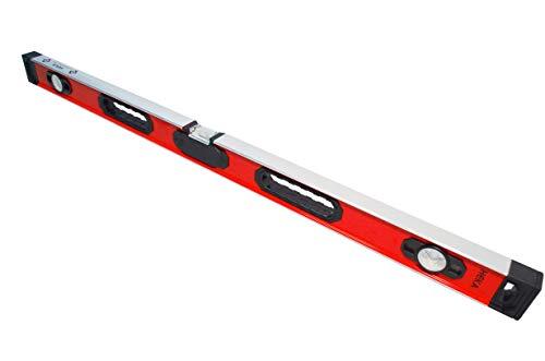 HEKA Magnetische digitale LED Aluminium Wasserwaage Opto 60, 80, 100, 150, 180, 200 cm mit akustischem Signal (100 cm)