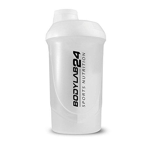 Bodylab24 Shaker 700 ml, weiss, 1er Pack (1 x 1 Stück)
