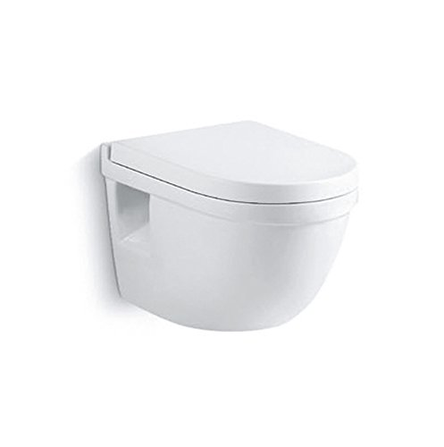 Burgtal 17807 Keramik Hänge Wand WC Toilette inkl. Soft Close WC-Sitz BWC-07