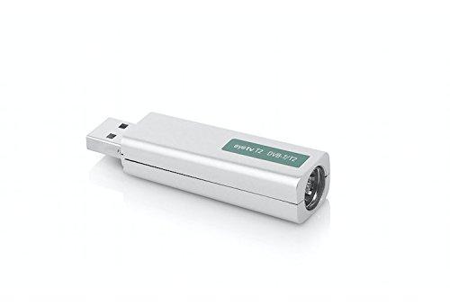Geniatech GT-1T220160401 EyeTV T2 Hybrid Signal Empfänger mit  Standards  DVB-T/T2/T2 HD HEVC, weiß