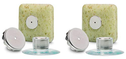 2 x Seifenhalter mit Magnet by SudoreWell / Savont - neu, innovativ, sauber und umweltfreundlich