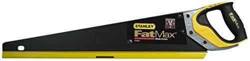 Stanley FatMax Gen2 Appliflon Handsäge (500 mm Länge, 7 Zähne/Inch, 1 mm Klingenbreite, Tri-Material-Handgriff) 2-20-529
