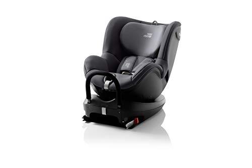 Britax Römer DUALFIX² R Autositz Gruppe 0+/1 (Geburt - 18 kg), Kollektion 2019, storm grey