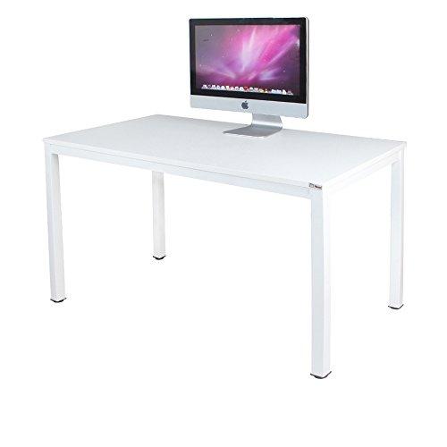Need Schreibtische 120x60cm Computertisch PC-Tisch Bürotisch Arbeitstisch Esstisch Holz, Weiß