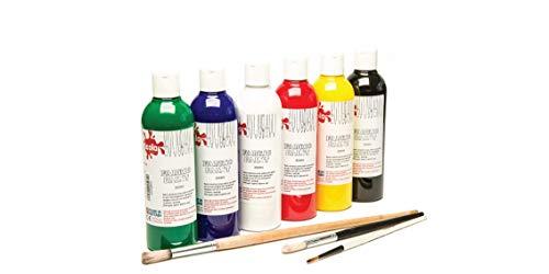 Scola Textilfarbe, 150 ml, 6 Stück