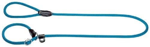 Hunter 47868 Retriever-Leine Freestyle, petrol, 8 mm breit, 120 cm lang