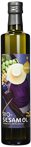 Fandler Bio-Sesamöl, 1er Pack (1 x 500 ml)