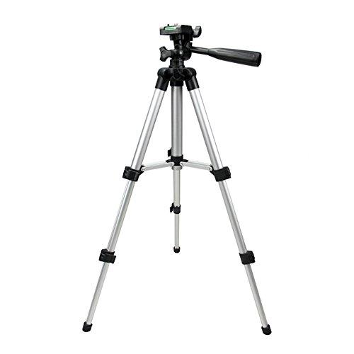 Rokoo Universal Stativ Tragbare Digitalkamera Camcorder Stativ Ständer Halterung Leichte Aluminium für Canon Nikon Sony