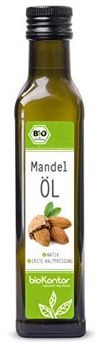 Bio Mandelöl - nativ, kaltgepresst, 100% natur - bioKontor - 250ml