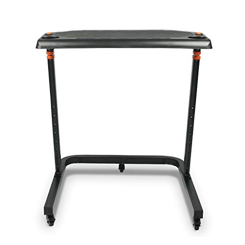 PPWear Fahrradtisch, höhenverstellbarer Tisch ideal fürs Indoor Fahrrad Training auf Rollentrainer und Smart Trainer