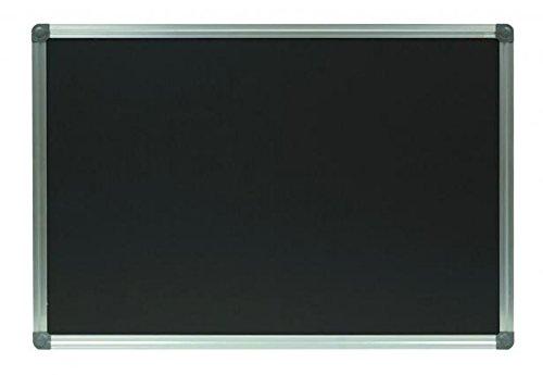 Kreidetafel / Schultafel,schwarz, magnetisch, mit Alurahmen (80 x 120 cm)