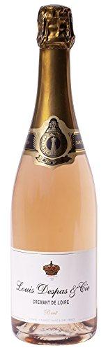 6x 0,75l - Louis Despas - Brut Rosé - Crémant de Loire A.O.C. - Frankreich