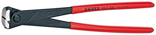 KNIPEX 99 11 250 Kraft-Monierzange hochübersetzt schwarz atramentiert mit Kunststoff überzogen 250 mm