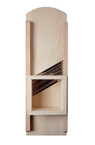 K&K Krauthobel / Krautschneider mittel, 60 x 24 cm, aus hochwertigem Pappelholz Typ Classic