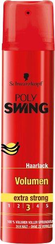 Schwarzkopf Poly Swing Volumen Haarlack, extra strong Halt 3, 5er Pack (5 x 250 ml)