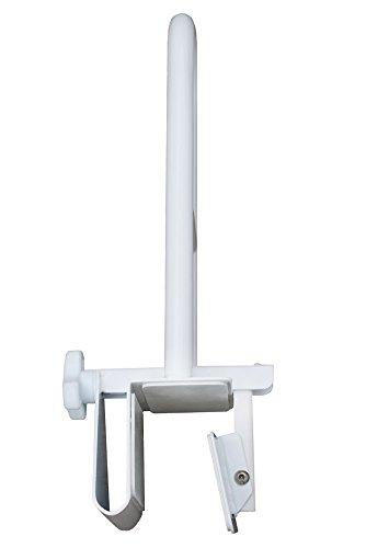 Badewannen-Einstiegshilfe - Badewannenhalterung - Badewannen-Haltegriff - Badewannengriff, Weiß, Rostfreies hochwertiges Stahlgestänge, Stabil, Robust, Einfache Montage