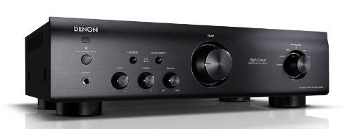 Denon PMA 520 AE Stereo-Vollverstärker (Aluminium Frontblende, ECO-Standby, 2x 70 Watt) schwarz