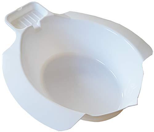 mobiles Ingbertson Einsatz-Bidet für WC aus Kunststoff Toiletteneinsatz Bidet Sitzbad (A, 1 - Pack)