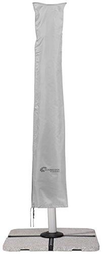 Schneider Schutzhülle für Ampelschirme, silbergrau, bis 350 cm Ø & 300x300 cm