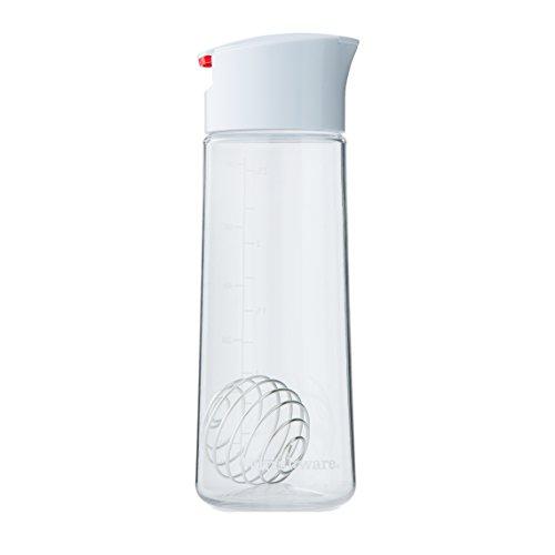 Whiskware Dressing Shaker | Soßenspender für Salatsoßen, Marinaden & Dressings | mit BlenderBall Schneebesen | Tritan, BPA frei | 590ml