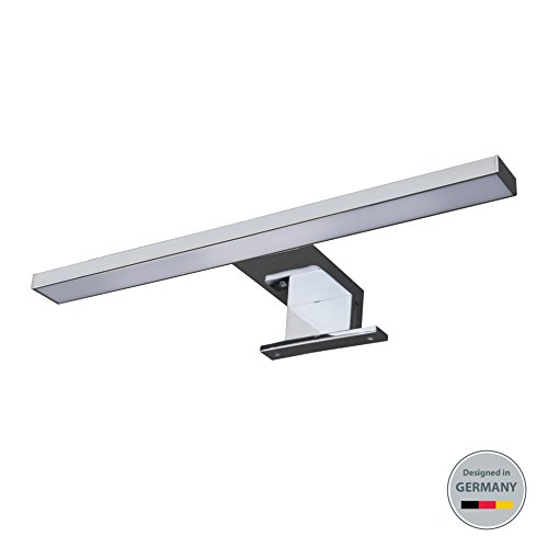 LED Spiegelleuchte I Badleuchte I Schminklicht I Badezimmer I Schrank-Beleuchtung I neutral-weiß I 230 V I IP44 I Produktlänge: 300 mm
