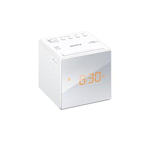 Sony ICF-C1W Uhrenradio (LED-Display, Alarm) weiß