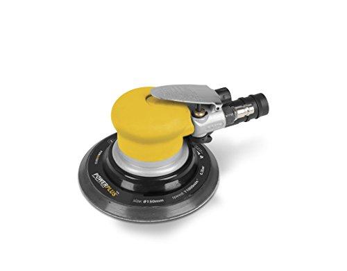 Powerplus POWAIR0013Orbital Sander Black, Yellow Power Sander–Bandschleifmaschine (Orbital Sander, Black, Yellow, 15cm, 161x 252x 115mm, 1.38kg)