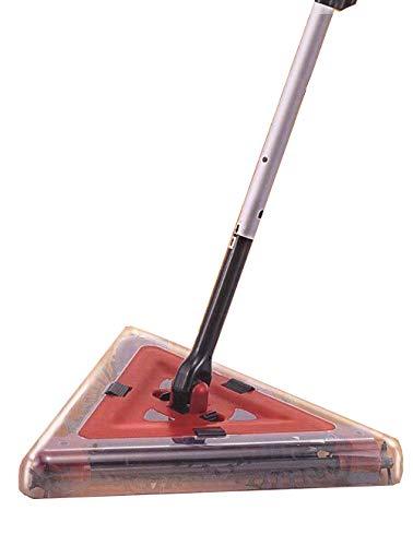 Flexi Sweeper, Akku-Delta Kehrbesen 4 tlg. , kabellose elektrische Kehrmaschine, ideal für Bodenbeläge aller Art