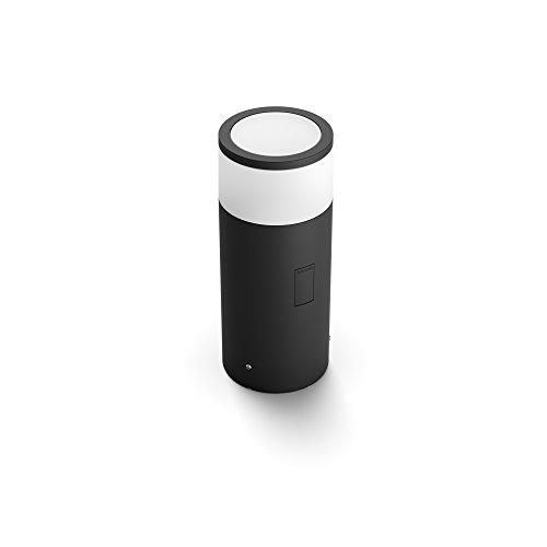 Philips Hue White and Color Ambiance LED Sockelleuchte Calla Erweiterung für den Aussenbereich, dimmbar, bis zu 16 Millionen Farben, steuerbar via App, kompatibel mit Amazon Alexa (Echo, Echo Dot)