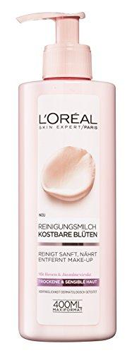 L'Oréal Paris Kostbare Blüten Reinigungsmilch, 3er Pack (3 x 400 ml)