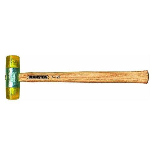 Kunststoffhammer mit schlagfesten Kunstoff-Einsätzen, lackierter Stiel