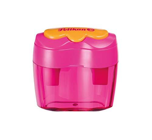 Pelikan Doppel-Anspitzer Flower Pink, 1 Stück