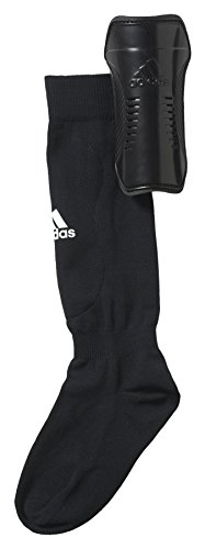 adidas Kinder Schienbeinschoner Youth Guard, Black/White, M, AH7764