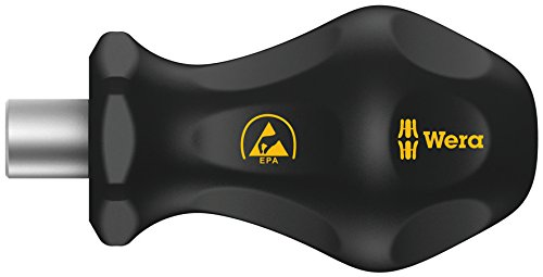 Wera  811/1 ESD Bits-Handhalter, 1/4 Zoll x 10 mm