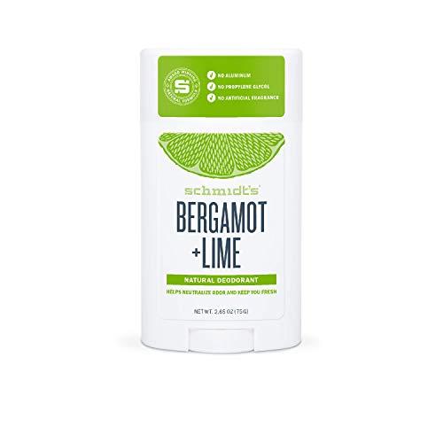 Schmidt's Deodorant Stick Bergamot + Lime, 2er Pack (2 x 75 g)