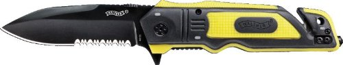 Walther ERK Emergency Rescue Knives Yellow