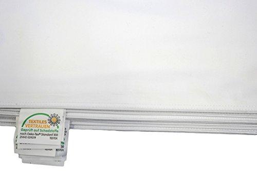 Inlett - Inletts 100% Baumwolle Qualität Kissenhülle Weiß Verschiedene Größe (80x80cm)