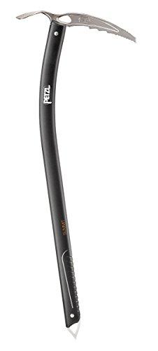 Petzl Erwachsene Eispickel Summit, Black, 66 cm, U13B