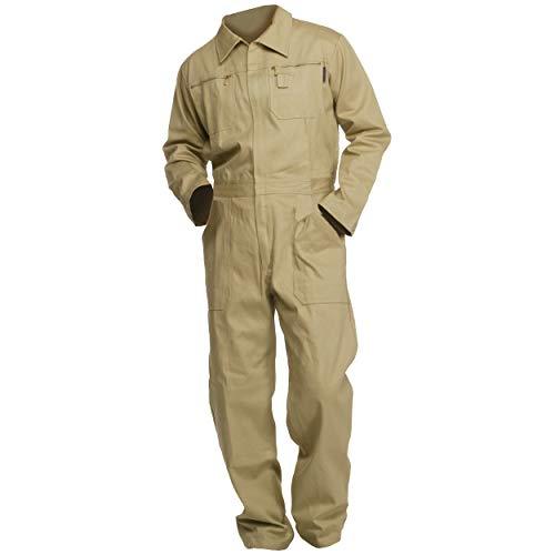 Sweat Life Herren Overall Arbeitsanzug Khaki