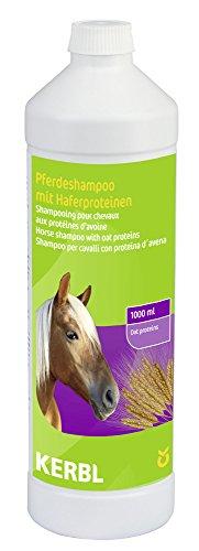 Kerbl 321585 Pflegeshampoo für Pferde, mit Haferproteinen, 1000 ml