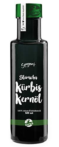 Sengers reines steirisches Kürbiskernöl 100% Kernöl aus der Steiermark (500 ml)